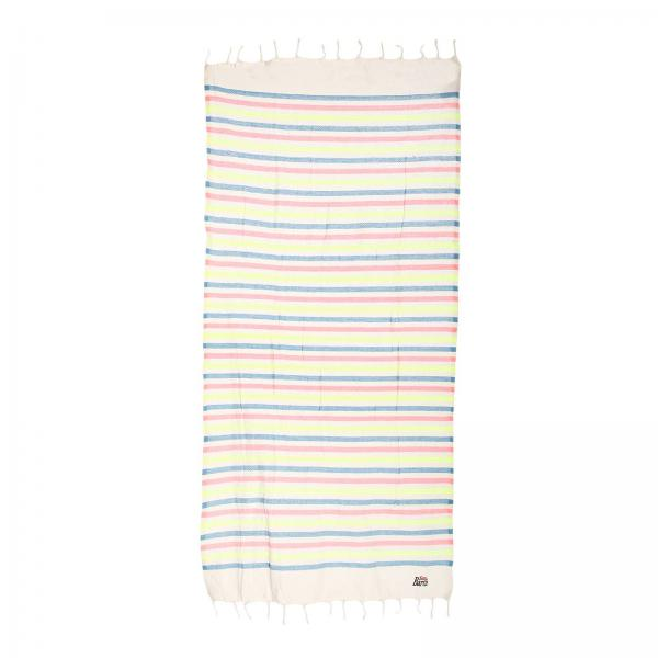 Beach towel Mc2 Saint Barth FOUTAS MULTISTRIPE WYPT