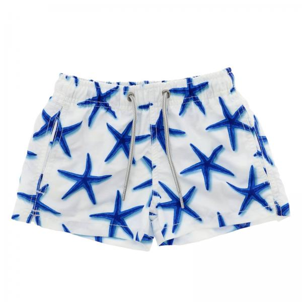 Costume Jean Queen Starfish 01 MC2 Saint Barth a boxer con stampa di stelle all over