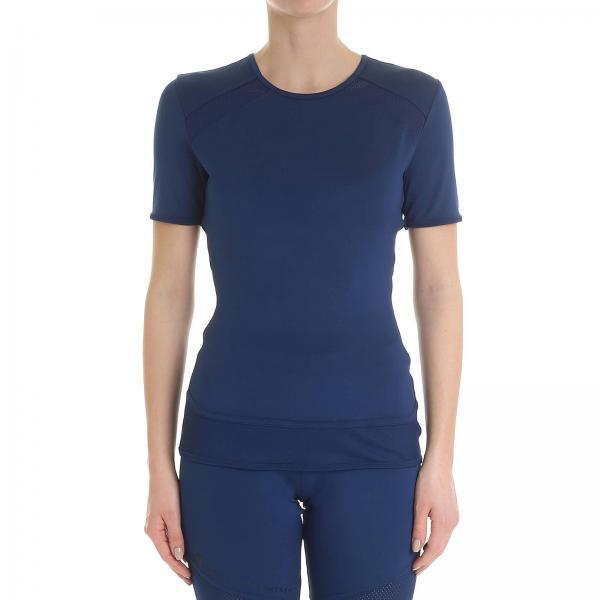 Mccartney Stella Dt9328giglio 2019 Blue Camiseta By Adidas Mujer Primavera verano FwqOaIT