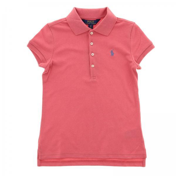 online store 487ff c0d70 t-shirt bambino polo ralph lauren girl