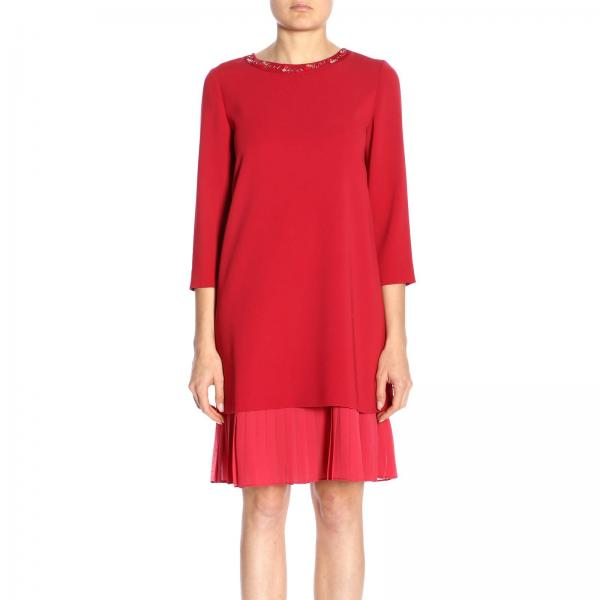 ed2f5b93c07 Max Mara Studio Women s Red Dress