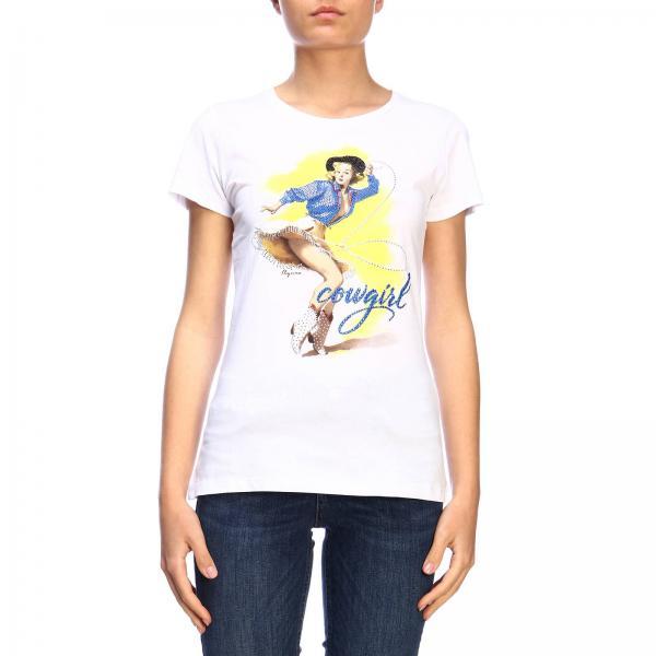 d5ce6c6b87 Liu Jo Women's White T-shirt | T-shirt Women Liu Jo | Liu Jo T-shirt ...