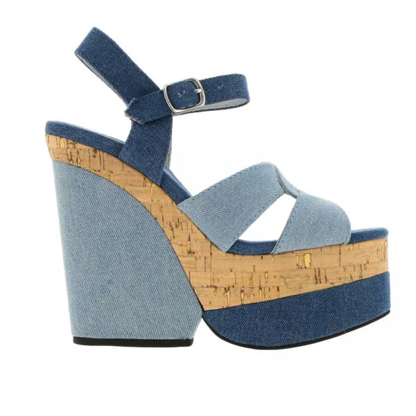 Обувь на платформе JEFFREY CAMPBELL JCS31JC041DEN