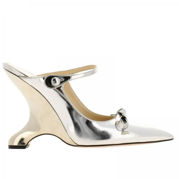 bf68cc4c44 Prada Women s Silver Shoes