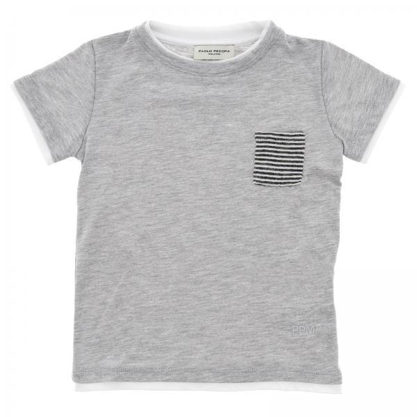 2dd9661134 Camiseta Niño Paolo Pecora Gris | Camiseta Paolo Pecora Pp1738 ...