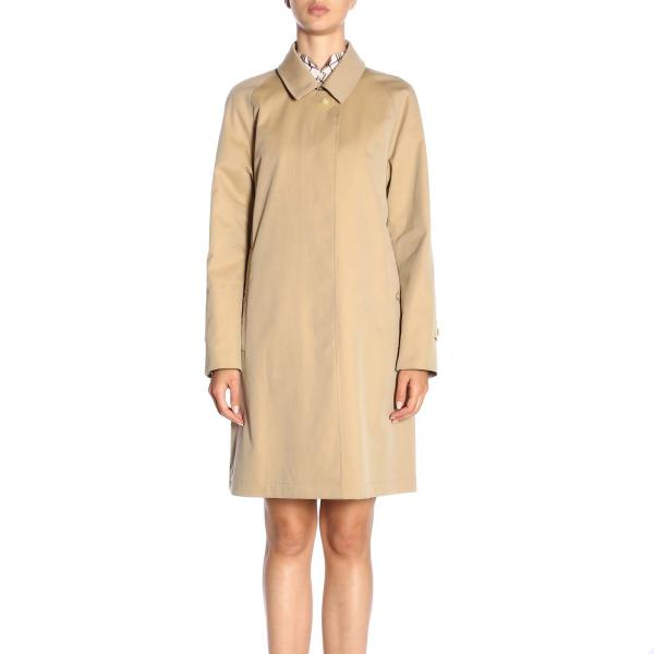 56a978bdf17d Burberry Women's Camel Trench Coat | Trench Coat Women Burberry ...