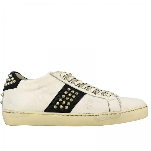 Sneakers Leather Crown MICONIC
