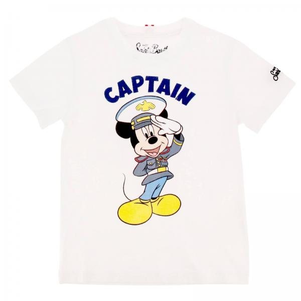 Pullover Mc2 Saint Barth TSHIRT BOY CAPTAIN MICKEY 01