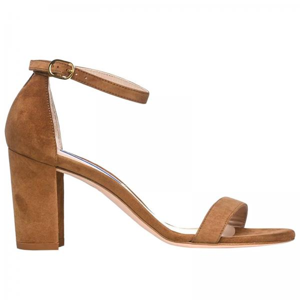 Flat sandals Stuart Weitzman NEARLYNUDE SUEDE