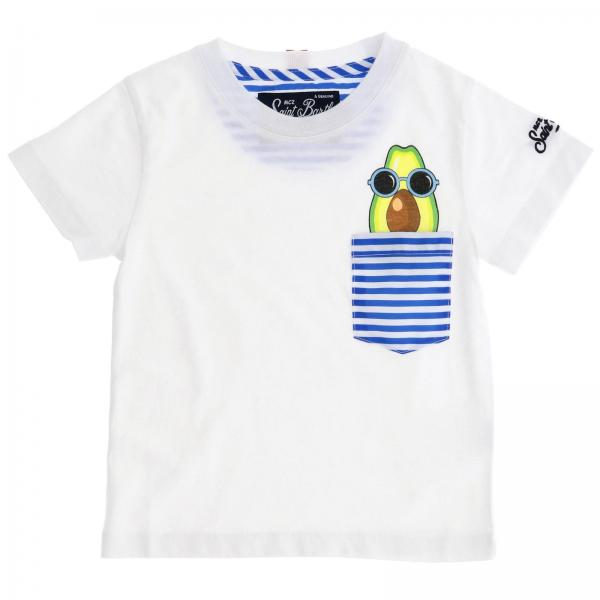 T-shirt Mc2 Saint Barth KEA 01 AVOCADO SUNGLASSES
