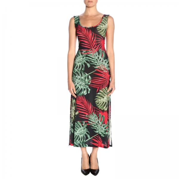 Vestido Mc2 Saint Barth MYLA VINTAGE LEAVES 00