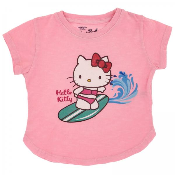 T-shirt Mc2 Saint Barth EMMA SURFING HELLO KITTY 21