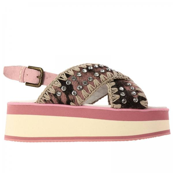 Wedge shoes Mou MU FLACROS PIN