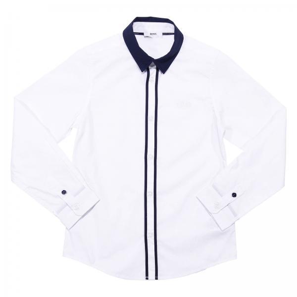 7ad4cbfce Hugo Boss boys' Shirt | Shop Hugo Boss Shirt for little boys ...