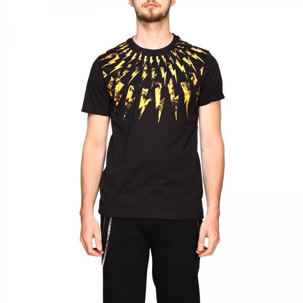 Neil Barrett 闪电印花短袖T恤