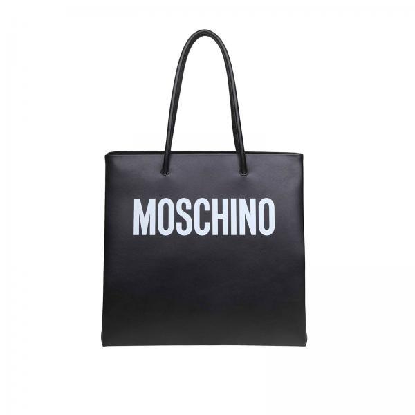 Сумка Moschino Couture из кожи с логотипом