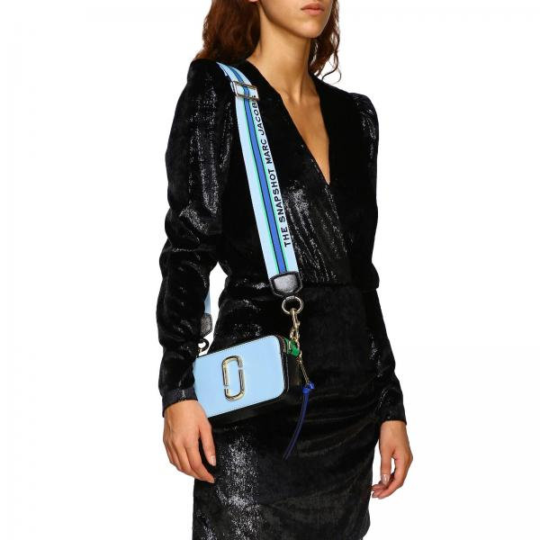 Graffetta Marc Pelle Maxi Metallica In Borsa M0015373 Donna Mini By JacobsCamera Saffiano Bag Con tshrCQd