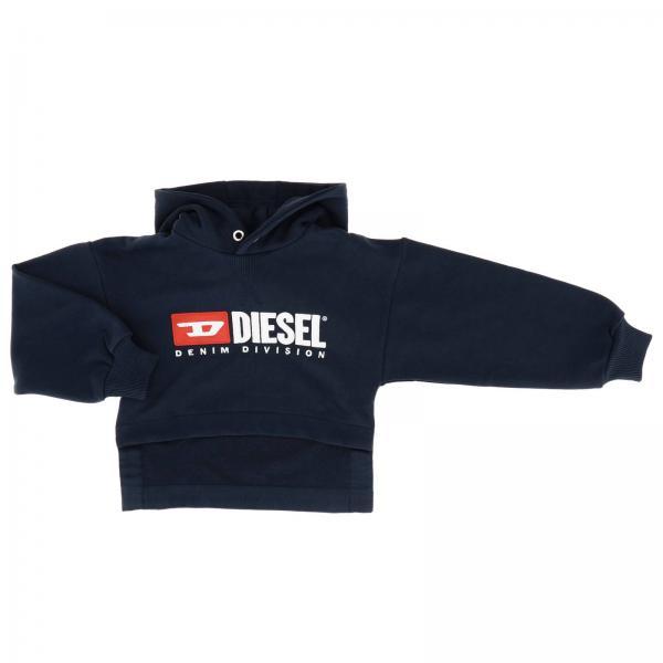 Sweat Diesel avec capuche et logo
