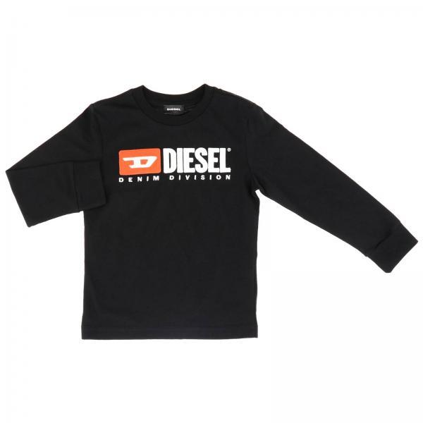 T-shirt Diesel à manches longues avec impression