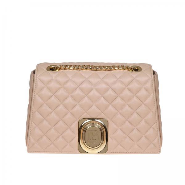Tracolla Borse Donna Signet In Bag Trapuntata A BalmainBorsa Spalla Con Metallico Pelle Gancio Sn1s147lnfm rdCxoBe