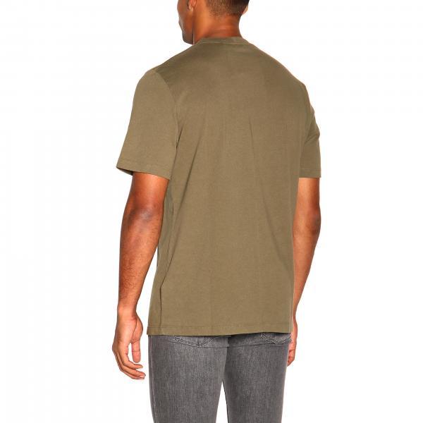 LangA Uomo Con J04hm513 Maniche Helmut Logo Corte shirt T l3TcFJK1