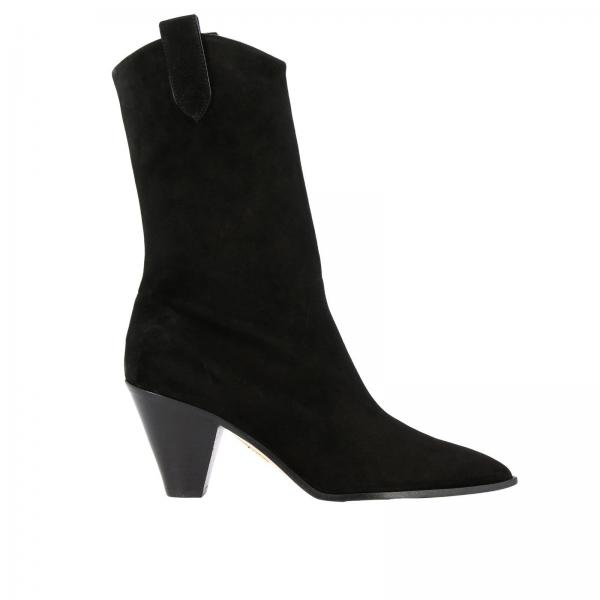 Heeled booties Aquazzura BOOMIDBISUEDE