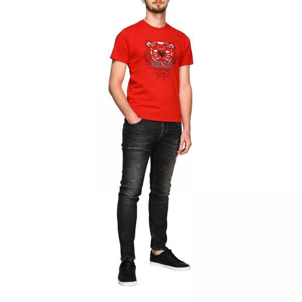 In Paris Con KenzoA Tiger Uomo Maniche Corte Stampa T F965ts0504ya shirt Cotone wOXZTkPiu