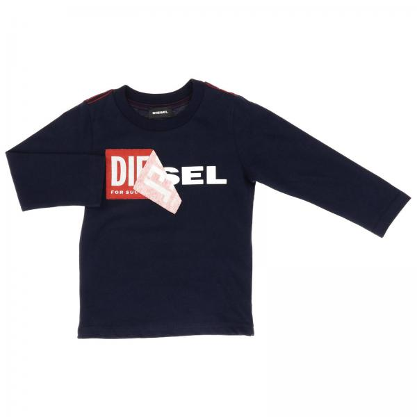 Diesel long-sleeved T-shirt with print