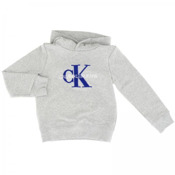 Sweat Calvin Klein avec capuche et maxi logo imprimé
