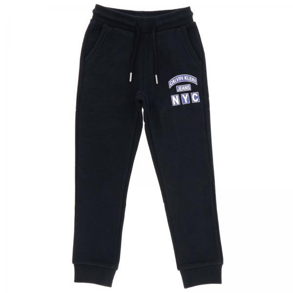 Pantalone Calvin Klein jogging con stampa logo
