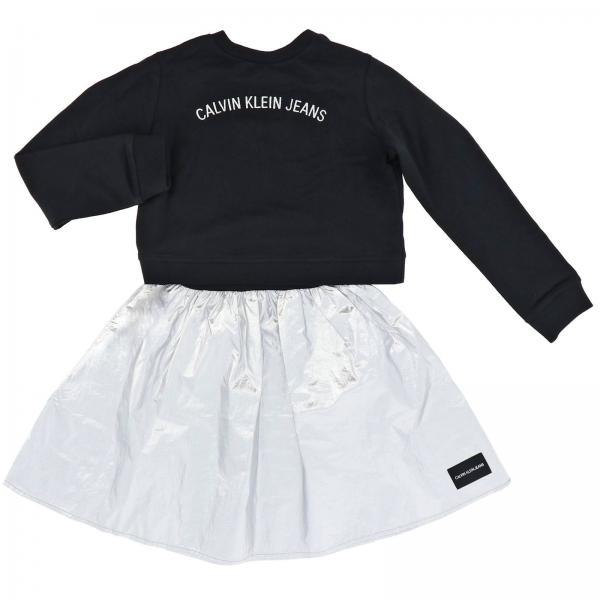 Robe avec sweat et jupe Calvin Klein