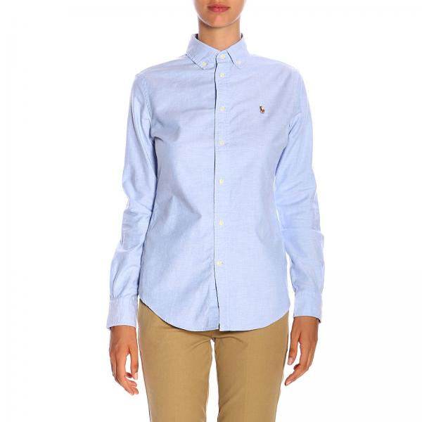 Classic shirt with button down collar and Polo Ralph Lauren logo