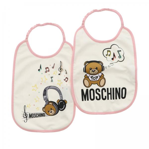 Bavoir Moschino Baby MZY012 LBA12