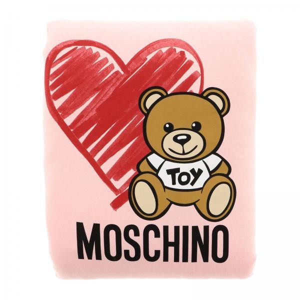 Copertina Moschino Baby double con tema Teddy