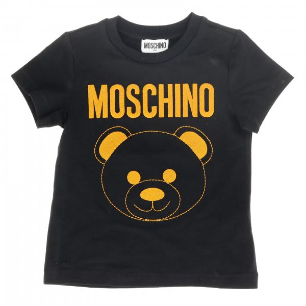 Moschino Kid short-sleeved T-shirt with maxi Teddy