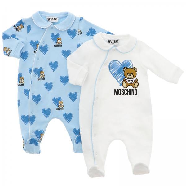 Set 2 tutine Moschino Baby con piede