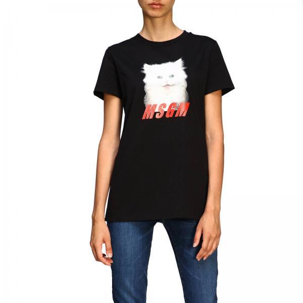 T-shirt femme Msgm