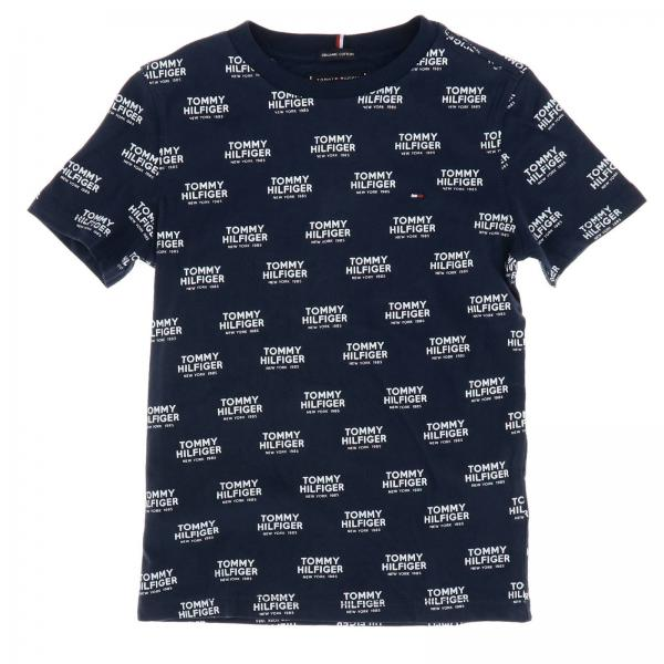 T-shirt Tommy Hilfiger con logo all over
