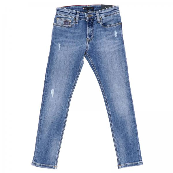 Jeans Tommy Hilfiger slim in misto cotone stretch used