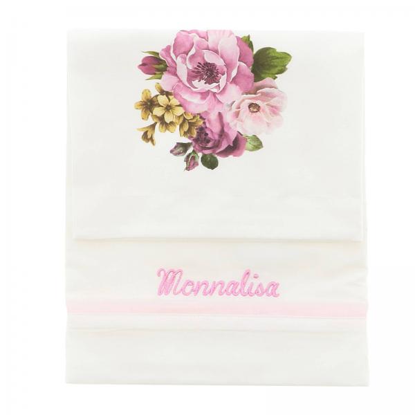 Lenzuola Monnalisa Bebé con stampa floreale