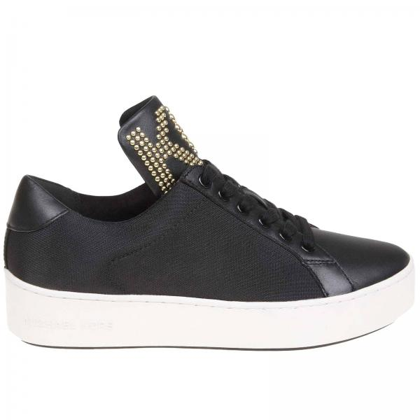 Michael Michael Kors leather sneakers with studs logo