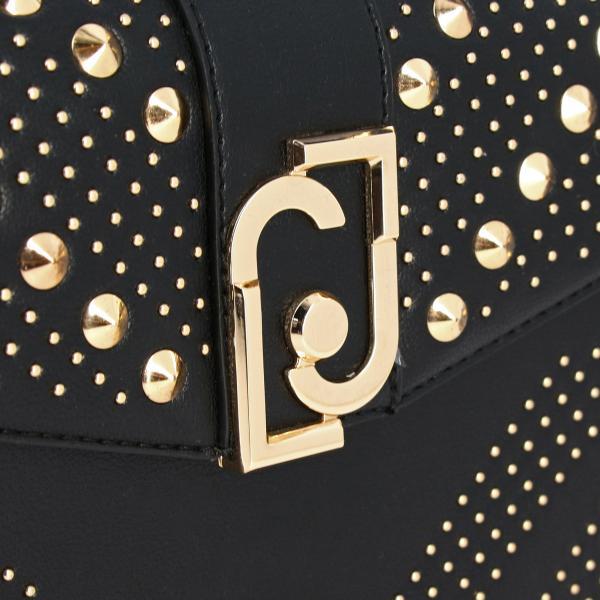 Tracolla Donna NeroBorsa Borchie Pelle Borse Logo Liu Join E A A69037e0052 Sintetica Con Jo gb7y6Yf