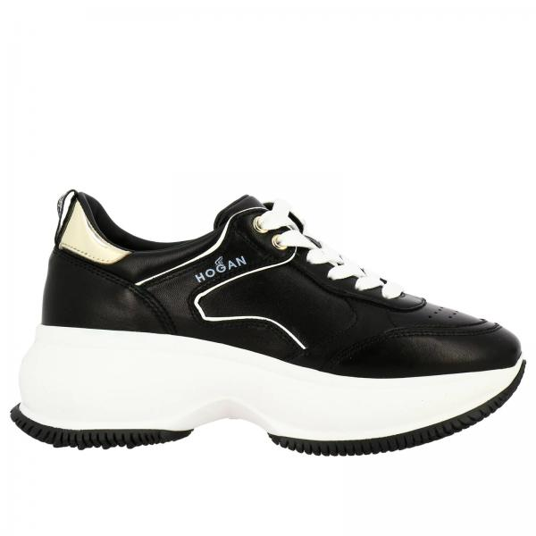 Active One Maxi Hogan sneakers in smooth leather with laminated details