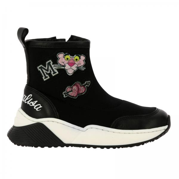 Monnalisa sock sneakers with Pink Panther