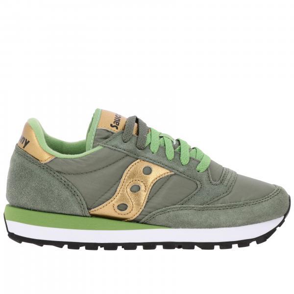 Sneakers Saucony in pelle scamosciata e nylon