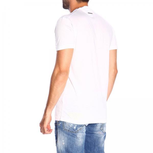 Dsquared2In A Corte T Con Jersey Logo Maniche shirt S74gd0580s21600 Uomo Icon LzGSUqMVp