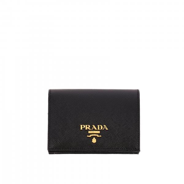 Portafoglio donna Prada