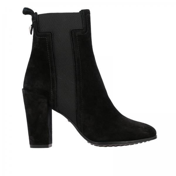 Tod's ankle boots in suede with elastic maxi T
