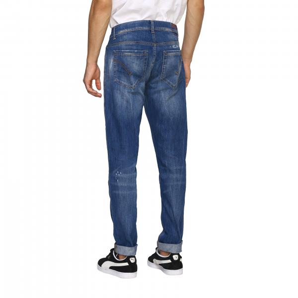 Dondup Uomo W37 DenimUp232 Jeans Ds0107 luF35T1JKc