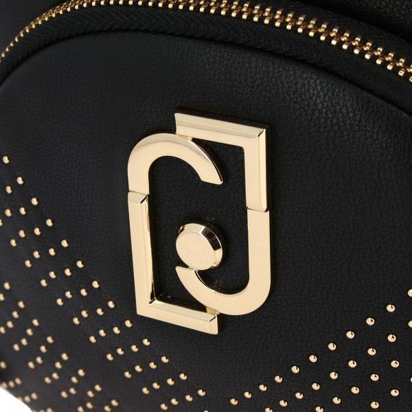 Jo Con A69140e0052 Donna Pelle Micro E NeroIn Borchie Liu Zaino Logo Sintetica XPZOuki